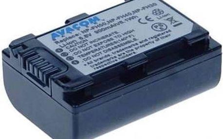 Akumulátor pro video/foto Avacom NP-FH30, FH40, FH50 (VISO-FH50-142) černý