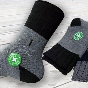 6 párů zdravotních termo ponožek