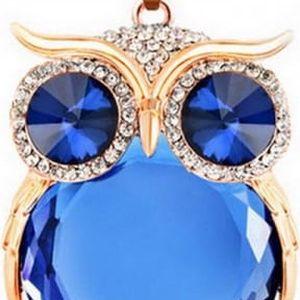Povedený náhrdelník s přívěskem v podobě sovy