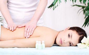 Masáže pro vaše zdraví i relax