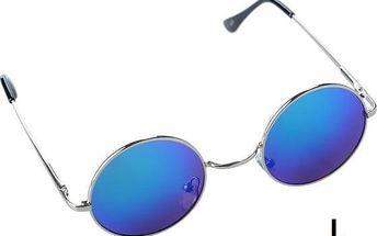 Sluneční brýle ve stylu hippies - 13 barevných variant