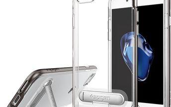 Spigen Crystal Hybrid pro iPhone 7, gunmetal - 042CS20459