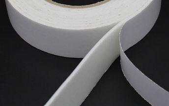 Balení oboustranných pásek z měkké pěny