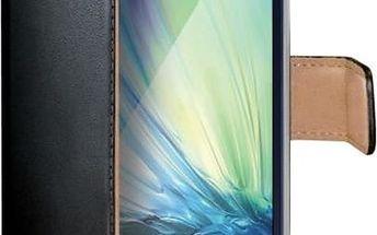 CELLY Wally pouzdro typu kniha Samsung Galaxy A5 PU kůže černé