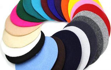 Dámský baret - více barev