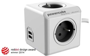 PowerCube EXTENDED USB Šedá
