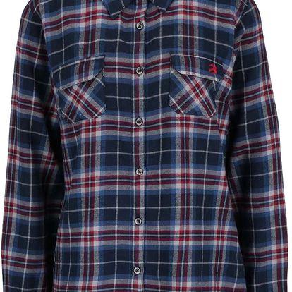 Tmavě modrá flanelová košile Brakeburn Large Check