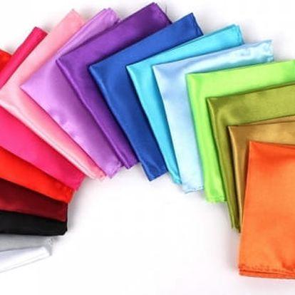 Pánský kapesníček do saka - 19 barev