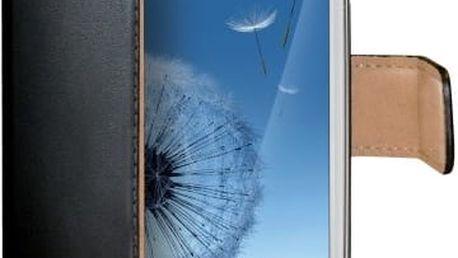 CELLY Wally pouzdro typu kniha Samsung Galaxy S3 PU kůže černá