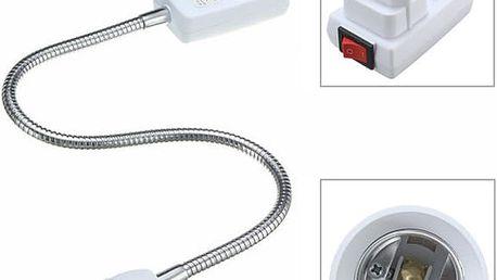 Objímka na žárovku do zásuvky - E27