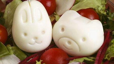 Formy na vařená vejce Zvířátka 2 ks