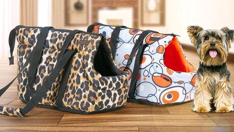 Cestovní tašky pro psy menších plemen
