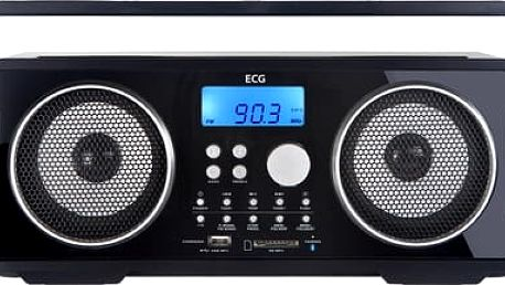 Radiomagnetofon ECG BTR 1000 BLACK