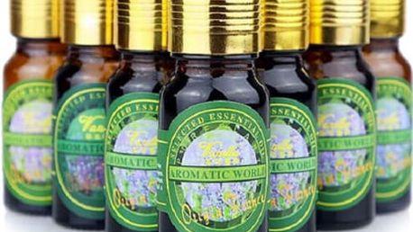 Přírodní esenciální olej - mix druhů