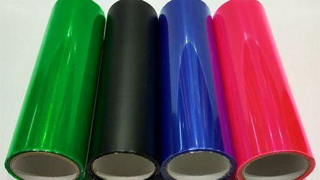 Tónovací fólie na světla - 5 barev