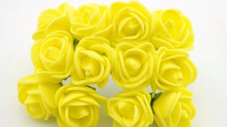 Květiny do vlasů - umělé