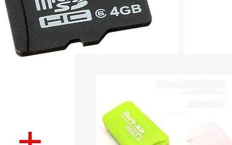 Micro SD karta se čtečkou