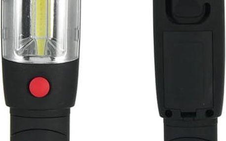 Inspekční LED svítilna s magnetem a háčkem