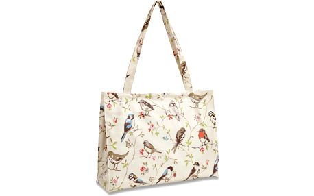 Nákupní taška přes rameno z bavlny Cooksmart England Dawn Chorus, 40x30 cm