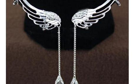 Dámské náušnice ve tvaru křídel