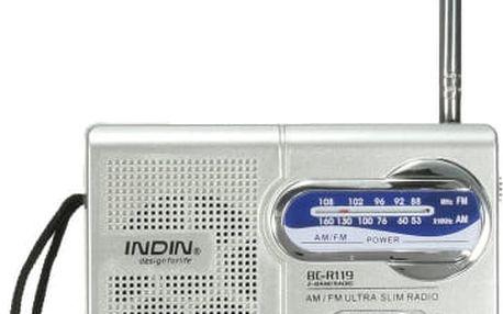 Kapesní cestovní AM/FM rádio
