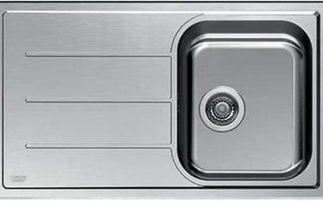 Nerezový kuchyňský dřez Hotpoint ROMA 86 S (X)