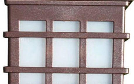 Solární nástěnné svítidlo v historickém designu