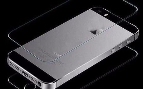 Přední a zadní čiré tvrzeného sklo pro iPhone