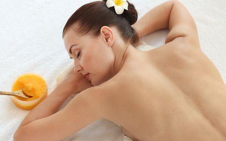 50minutová medová masáž vč. parafínu na ruce