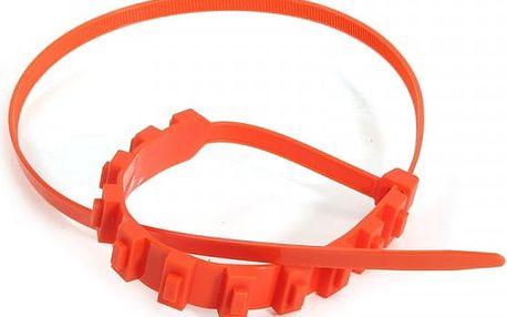 Protiskluzové pásky na pneumatiku - 2 kusy