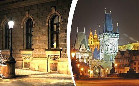 Univerzální poukaz - Strašidelná Praha - 90 min. naučná procházka po Praze dle výběru: Pražský hrad, strašidelný Vyšehrad a jiné.