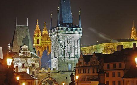 Univerzální poukaz - Strašidelná Praha - 90 min. naučná procházka po Praze dle výběru.