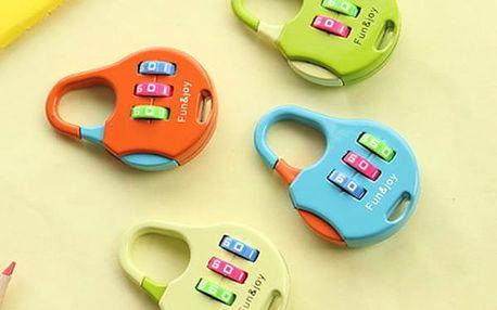 Kódovací zámek na batohy a tašky
