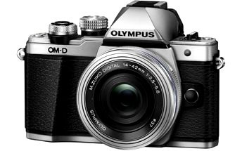 Digitální fotoaparát Olympus E-M10 II + objektiv 14-42mm II stříbrný