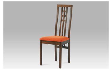 Židle BC-12481 WAL, masiv buk - BEZ SEDÁKU