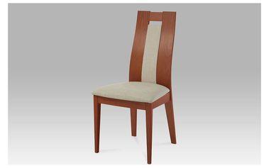 Jídelní židle BC-33905 TR3, masiv buk, barva třešeň