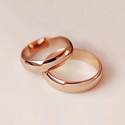 Dámský prsten - růžová nebo stříbrná barva