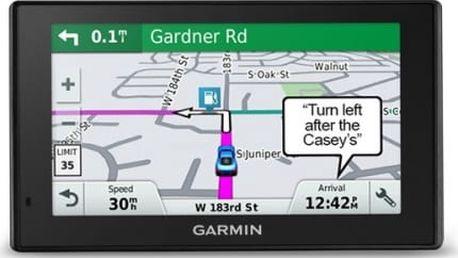 Navigační systém GPS Garmin DriveSmart 50 Lifetime Europe45 černá
