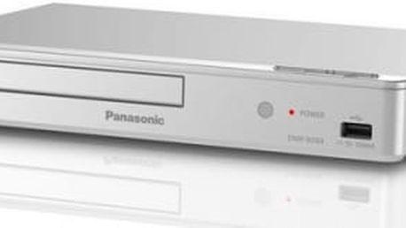 Blu-ray přehrávač Panasonic DMP-BD84EG-S stříbrný