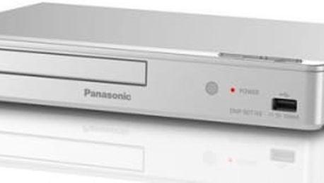 3D Blu-Ray přehrávač Panasonic DMP-BDT168EG stříbrný