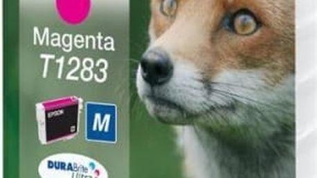 Inkoustová náplň Epson T12834011, 3,5ml - originální (C13T12834011) červená