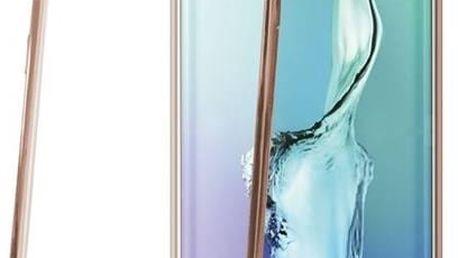 Kryt na mobil Celly Laser pro Samsung Galaxy S6 Edge Plus (BCLS6EPGD) zlatý