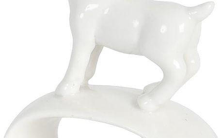 Sada kroužků na ubrousky Clayre & Eef Deer, 4ks