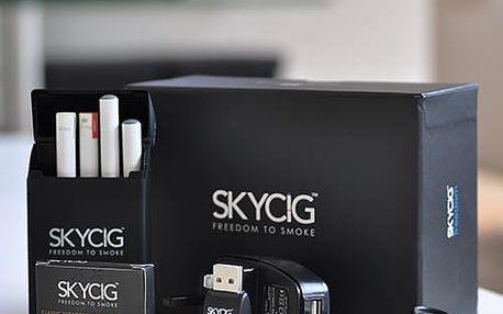 Elektronická cigareta SKYCIG: britská certifikovaná kvalita v českém balení s poštovným či bez