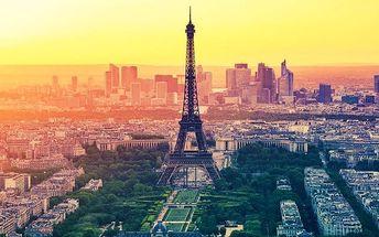 3denní zájezd do Paříže včetně Eiffelovy věže pro 1 osobu s průvodcem