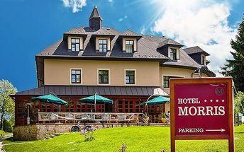 5denní luxusní wellness pobyt pro 2 v Golf hotelu Morris v Mariánkách s polopenzí
