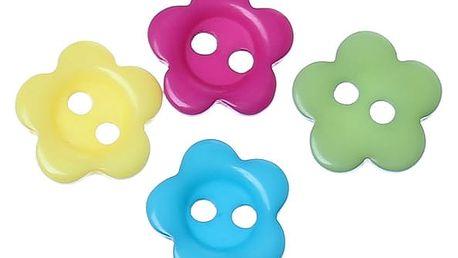 Sada barevných knoflíků na šití 30 ks