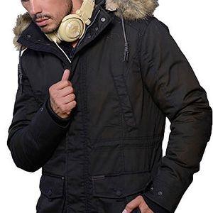 Biston-Splendid Pánská černá bunda 36201001.010 L