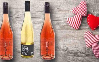 Pozdrav z Moravy: 3 lahve vynikajícího vína