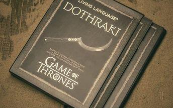 Učebnice jazyka Dothraki Game of Thrones